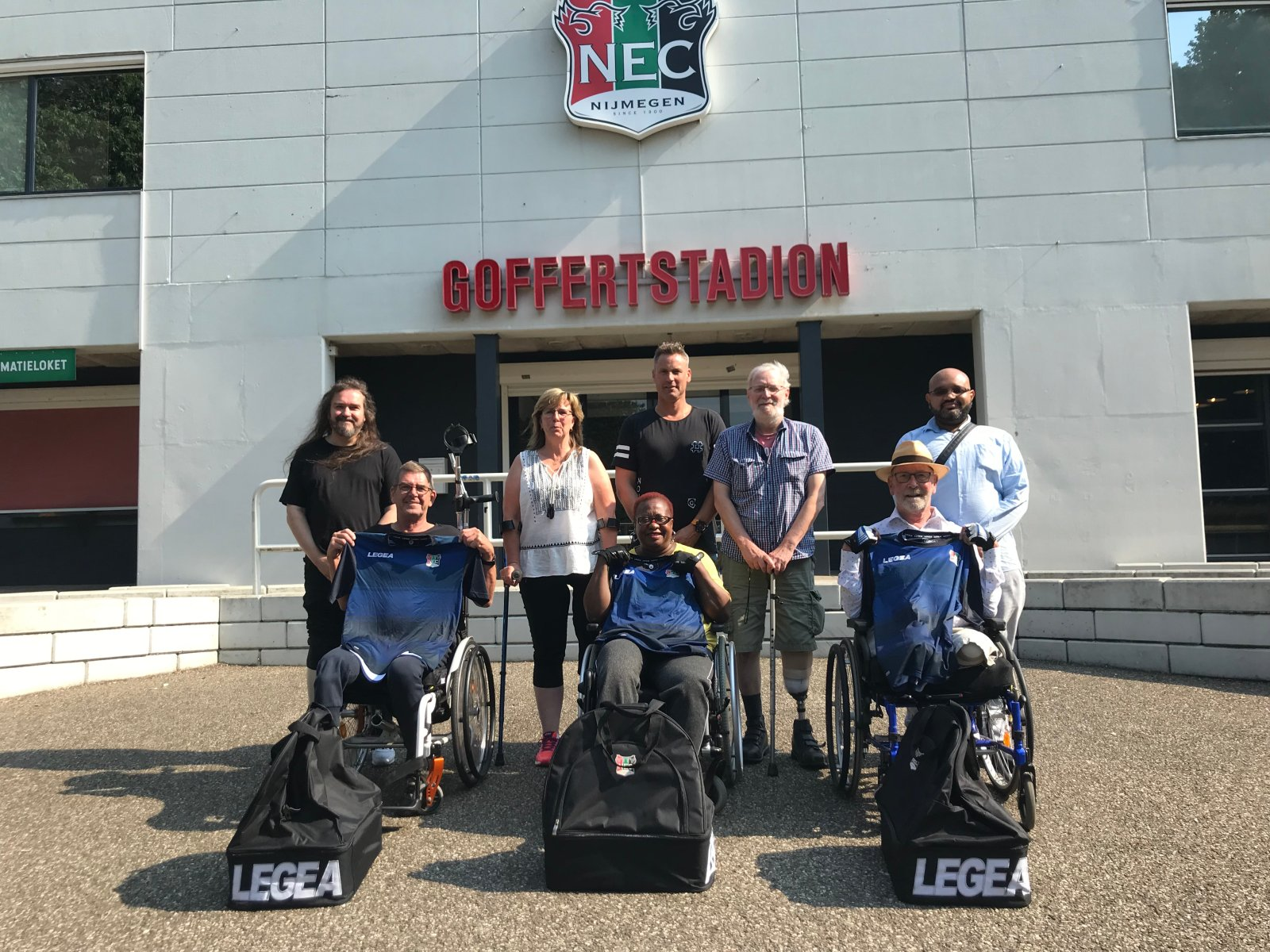 N.E.C. Parateam zoekt nieuwe deelnemers